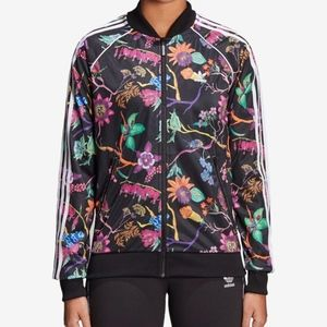 Adidas Originals Black Poisonous Garden Jacket M